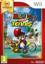 MARIO POWER TENNIS NINTENDO WII UK PAL GAME **NEW AND SEALED**