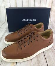 COLE HAAN Men's Casual Sagan Sneaker II Tan Leather Size 10 M NEW IN BOX