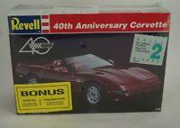 Revell 40th Anniversary Corvette 1:24 Scale Model Kit