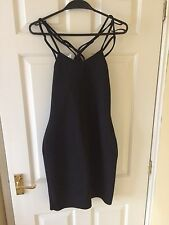 Red Herring Strappy Black Dress - BNWT - Size 8