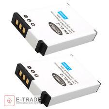 2pcs Battery Pack for Nikon EN-EL12 Coolpix P330 AW110 S9500 S9400 New