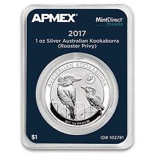 2017 AUS 1 oz Kookaburra Rooster Privy (MintDirect® Premier) - SKU #102781