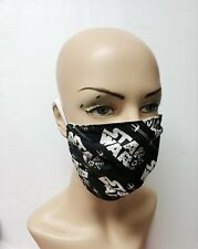 Star Wars Black & White Face Mask Cute Face Masks Face Covers