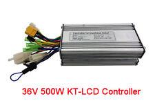 Electric Bike 36V 500W Brushless Controller Dual Hall Sensor KT-LCD Cruise eBike
