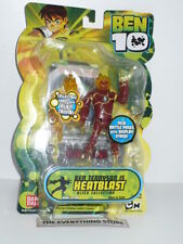 BANDAI BEN 10 HEATBLAST ALIEN COLLECTION 27220 SECOND RELEASE NEW ON CARD RARE