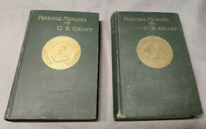 Personal Memoirs of Ulysses S. GRANT 1885 FIRST Edition Civil War Inscribed?