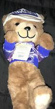 New listing New York Giants Super Bowl XXI 21 NFL Stuffed Teddy Bear Used