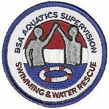 BOY SCOUT BSA AQUATICS SUPERVISION SWIMMING & WATER RESCUE PATCH BUDDY SYSTEM