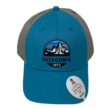 Patagonia P-6 Logo Trucker Hat (Mid-Crown) - Blue