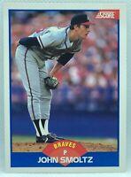1989 Score John Smoltz #616 Rookie Card RC Atlanta Braves NM-MINT Near Mint HOF