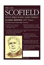 The Old Scofield Study Bible KJV Classic Edition Free Shipping