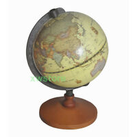 New Vintage Earth Map Globe World Geography Map Home Desk Decoration