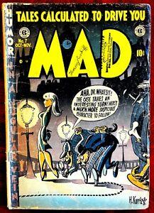 MAD Magazine #7 -  Good (2.0) - Sherlock Holmes, Treasure Island!  1953