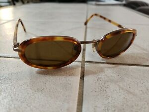 Vintage Giorgio Armani Tortoise Shell Sunglasses 672 1100 140, 49-21 Italy