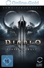 Diablo 3 III Reaper of Souls Addon Key [Battlenet Download] PC MAC Add-on EU DE