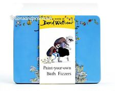 The World of David Walliams Paint Your Own Bath Fizzers Set - Children's Gift