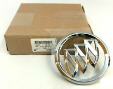 Buick Allure LaCrosse Lucerne trunk decklid chrome Trishield Emblem new OEM
