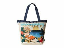 LESPORTSAC Medium Travel Tote Bag HANDBAG PURSE $82 Hailey Monaco Rifle Paper Co
