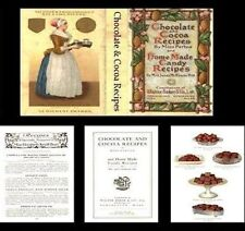 Dollhouse Early 1900s Style Chocolate Cocoa Recipe Book Miniature for Doll House