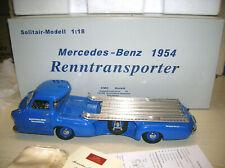 """CMC M-036 Mercedes-Benz Renntransporter """"Das blaue Wunder"""" 1954 in 1:18"""