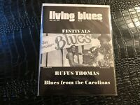 (UNREAD) SEPT/OCT 1976 LIVING BLUES music magazine (F3-BX5) RUFUS THOMAS