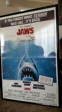 Jaws * Original Movie Poster 27x41 1979 Re-Release 1975 Classic Spielberg Movie