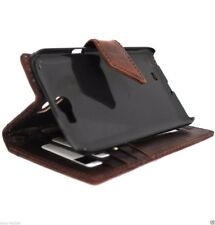 genuine vintage leather Case for Samsung Galaxy Note 2 book wallet magnet cover