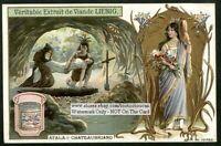 Atala From Atala Chateaubriand   c1905 Trade Ad  Card