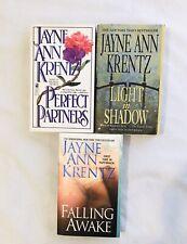 Lot Of 3 Jayne Ann Krentz Romantic Suspense Novels Books.