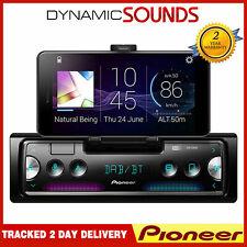 Pioneer SPH-20DAB SINGLE DIN Teléfono Inteligente Soporte DAB Bluetooth USB Coche Estéreo
