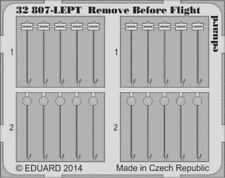 1/32 Eduard Remove Before Flight Tags FABRIC