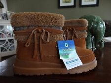 NWT BOBS FROM SKECHERS CHERISH - RUN FREE BOOTS CHESTNUT 6.5