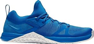 NEW Nike Metcon FlyKnit 3 Men Size: 11 Running Shoes Blue/White AQ8022 401