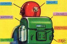 il mondo del futuro figurina 175 figurine lampo 1959 figurines lampo stickers gq