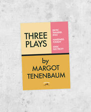 "The Royal Tenenbaums - ""Three Plays by Margot"" Sticker! - Wes Anderson bumper"
