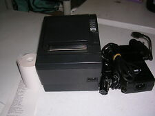 Epson TM-T88III USB POS Thermal Receipt Printer with Power Supply & USB Cable