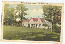 Halifax Golf and Country Club NS Nova Scotia Vintage Postcard