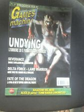 THE GAMES MACHINE 141 SEVERANCE UNDYING TYPE OF THE DEAD 2 COUNTERSTRYKE