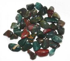 FANCY JASPER BLOODSTONE Tumbled Stones Healing Reiki Jewelry Medium 1/2 lb INDIA