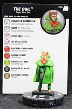 Heroclix The Owl 046 Marvel Avengers Defenders War Rare ADW 46
