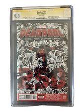 CGC Deadpool #45 CGC SS Stan Lee. Death Of Deadpool. Last Issue!