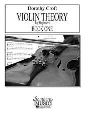 Violin Theory for Beginners Book 1 Second Edition NEW 003770867