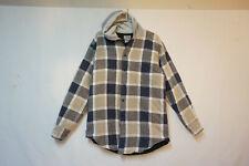 McGrergor Quilt-Lined Flannel Jacket, Hoodie, Plaid, Men's Medium B451