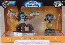 Dr. Krankcase & Tech Creation Crystal - Skylanders Imaginators Combo Pack Neu