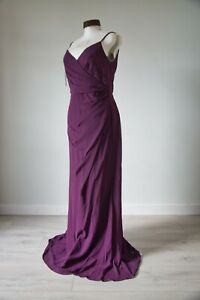 Five Bridesmaid Dresses - Plum Purple Made by Infinite at Wed2B