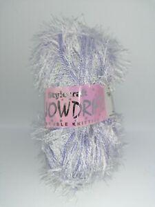 Stylecraft Snowdrift DK 50g Ball Polyester Yarn - Glacier - Lilac 1135