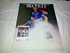 November 1991 Beckett Hockey Monthly