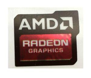 1 pcs AMD Radeon Graphics Skylake Sticker Logo Decal Badge 16.5mm x 19.5mm