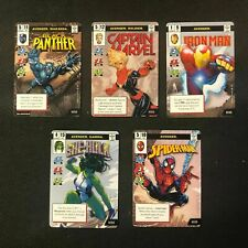 Marvel Champions LCG - Launch Weekend Comic Book Style Alt Art Heroes Promos