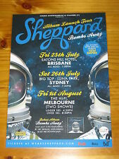 SHEPPARD - Bombs Away  Australia  Tour - Laminated Promotional Poster
